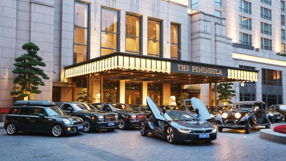 BMW-i8-hotel-península-Shanghái