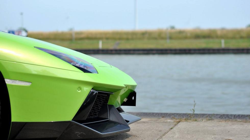 Novitec Torado Lamborghini Aventador verde morro