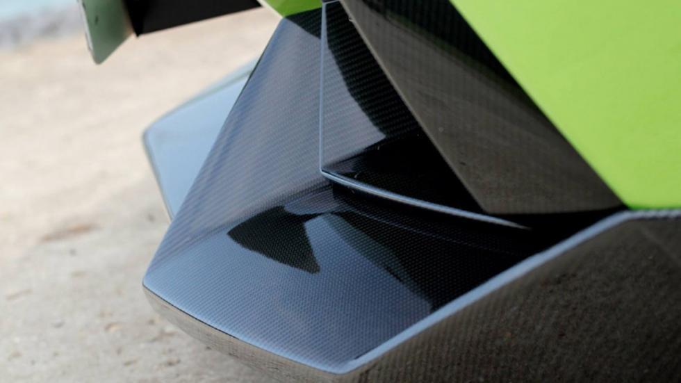 Novitec Torado Lamborghini Aventador verde fibra carbono