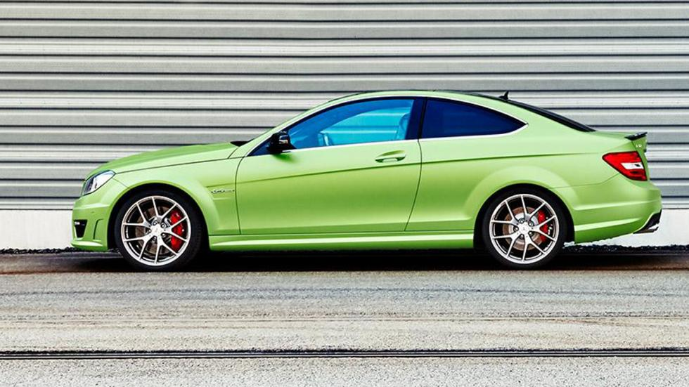 Mercedes C63 AMG Coupe Legacy Edition lateral