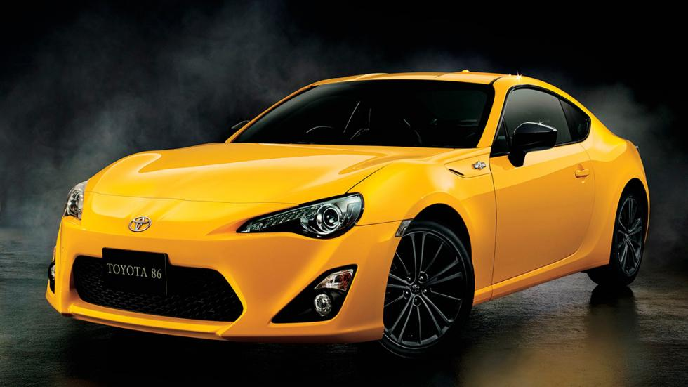 Toyota GT86 'Yellow Limited' frontal