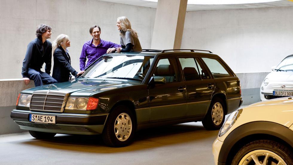 Mercedes 300D w124 delantera