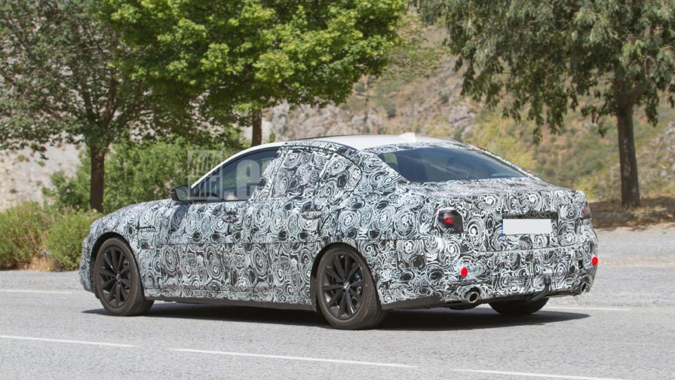BMW Serie 5 2016 trasera