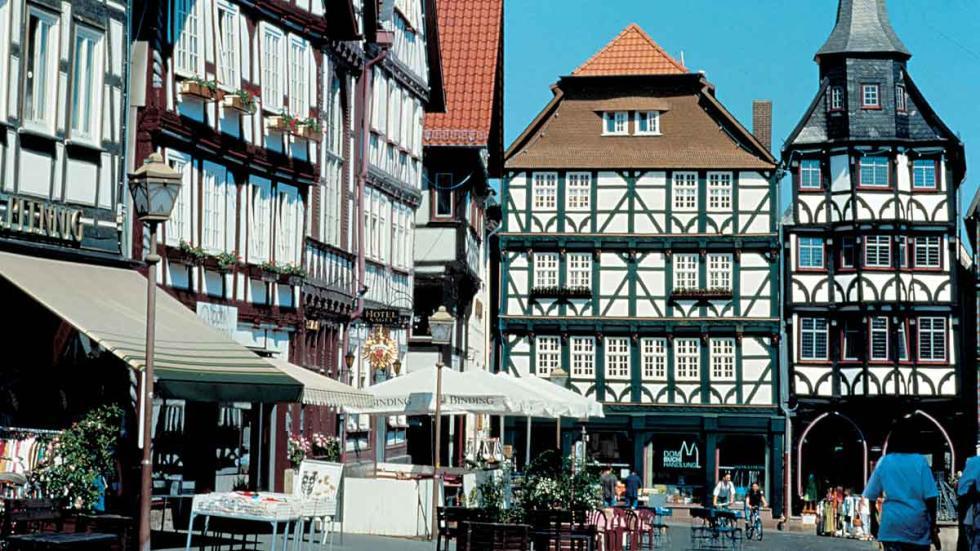 Fritzlar/Kurhessen: la plaza del mercado.