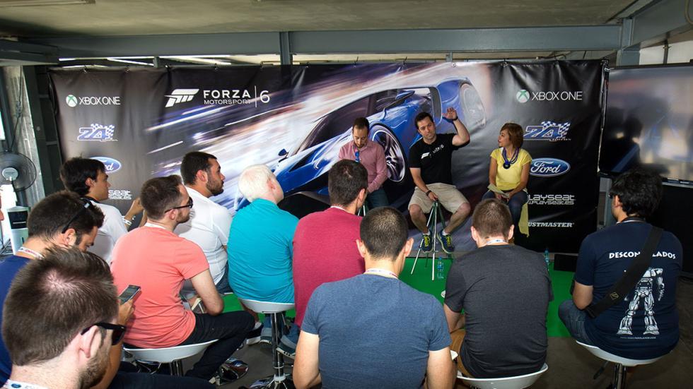 Presentación de Forza Motorsport 6 en el Circuito del Jarama