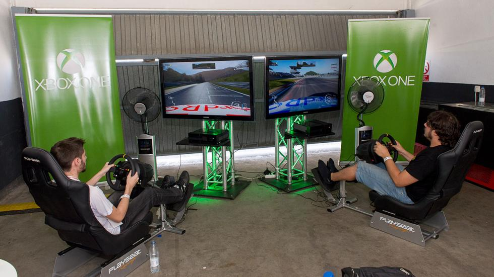 prueba virtual solidaria 24 Horas con Forza Motorsport.