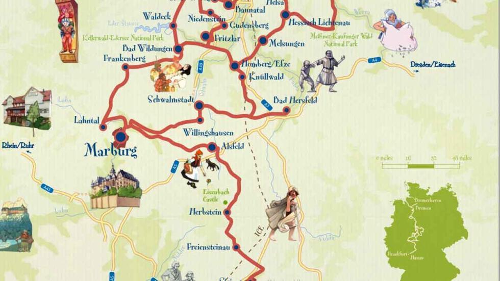 Parte 3 del mapa de la Carretera de los Cuentos