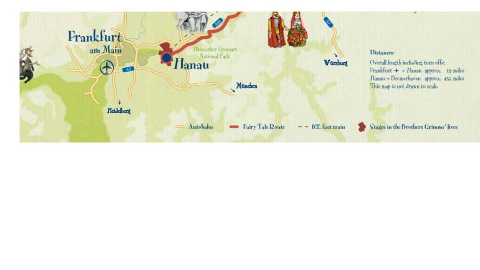 Parte 4 del mapa de la Carretera de los Cuentos