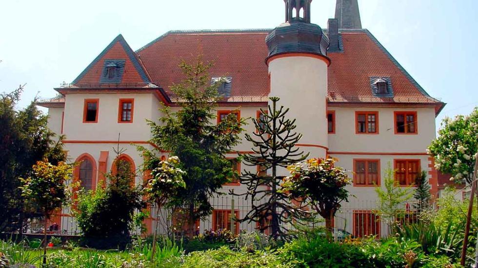 Neustadt: Casimirianum, un edificio universitario.