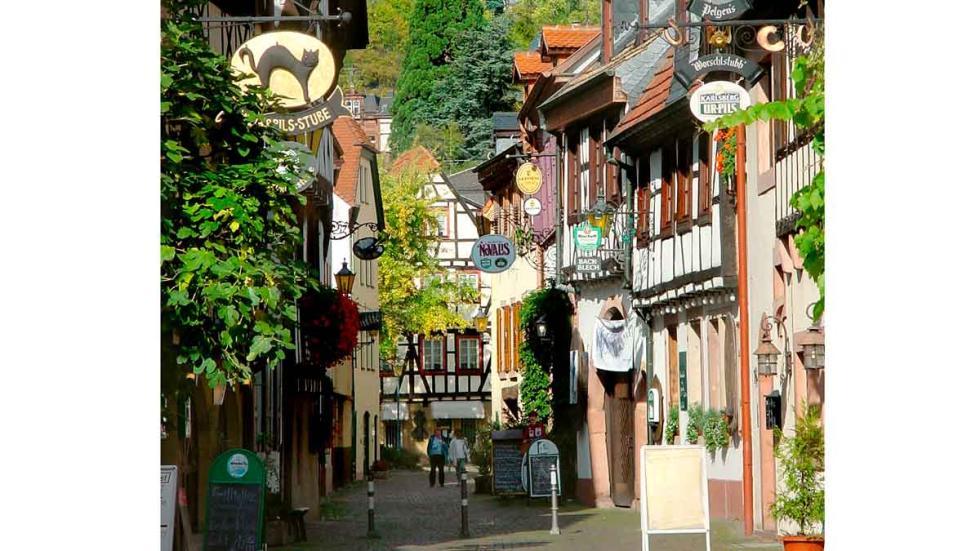 Una calle de Neustadt.