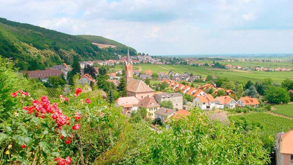 Vistas de Neustadt-Haardt