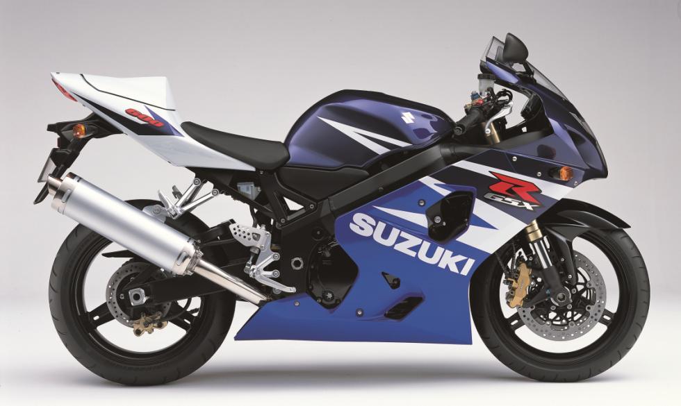 Suzuki GSXR: 30 años de revolución 2004