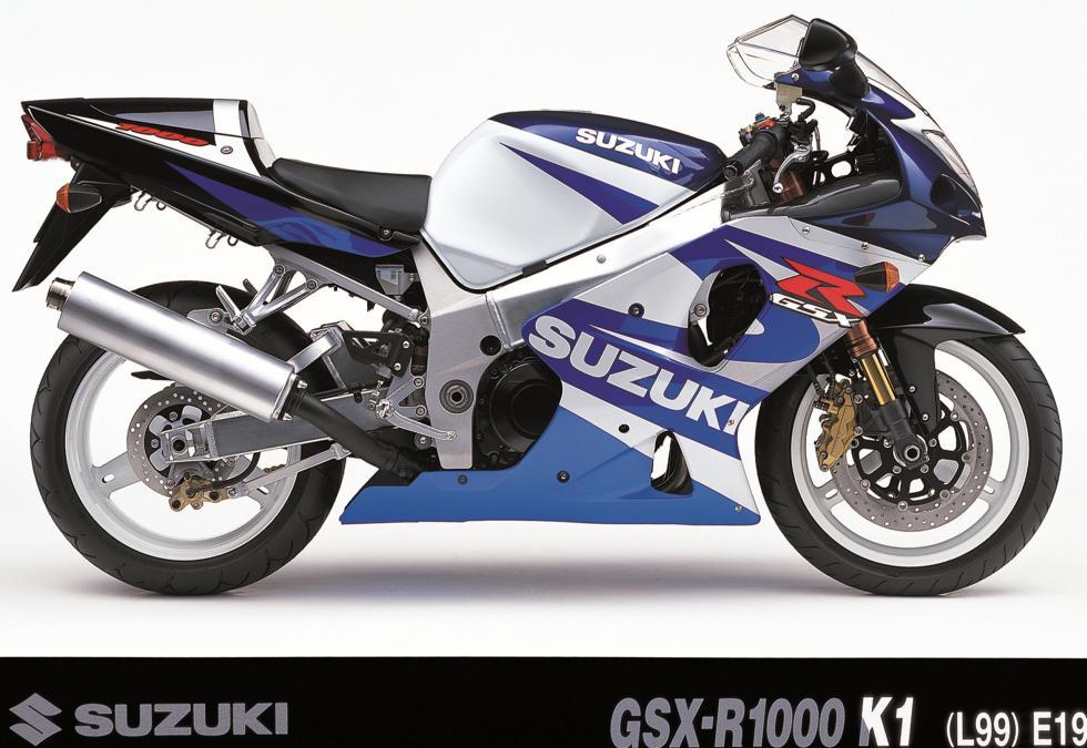 Suzuki GSXR: 30 años de revolución 2001