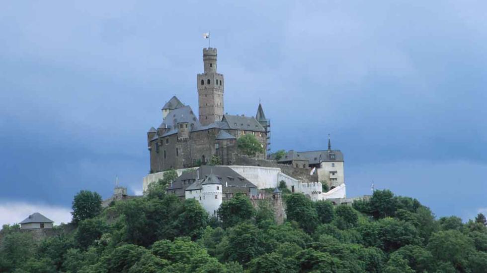 Braubach/Rhine: El Castillo Marksburg