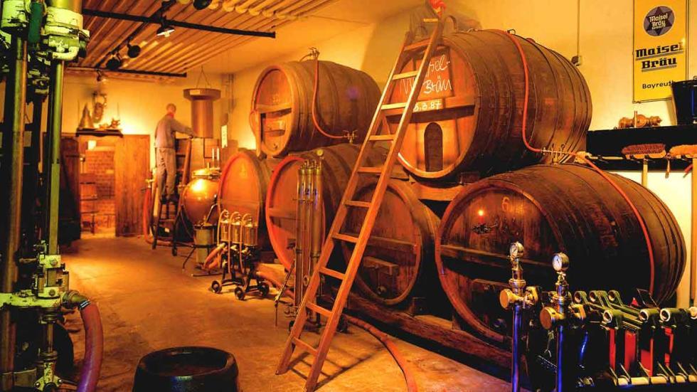 Bodega, cervecería de Maisel y museo Büttnereimuseum en Bayreuth