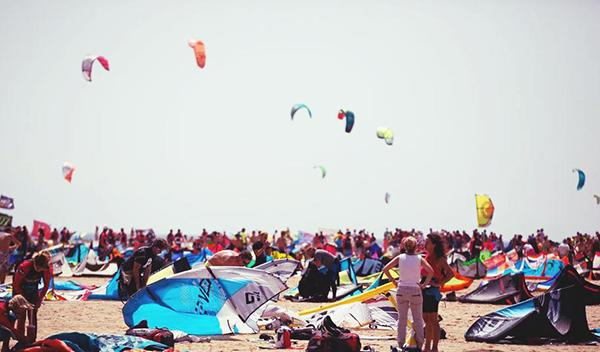 Récord kitesurfers Mundial Kitesurf Tarifa 2015