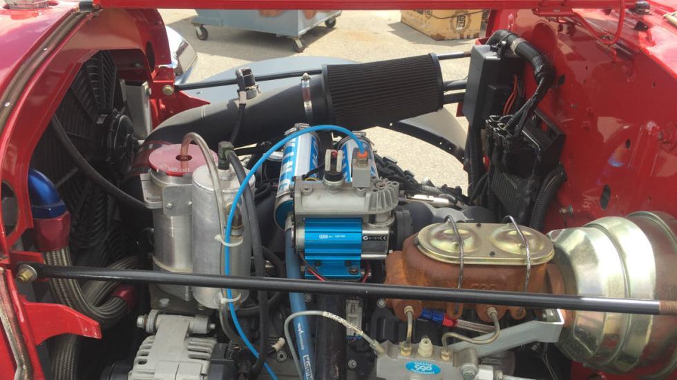 Dodge Power Wagon motor