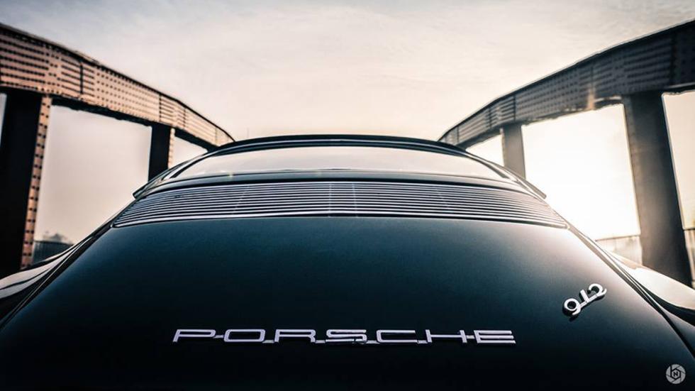 Porsche 912 trasera