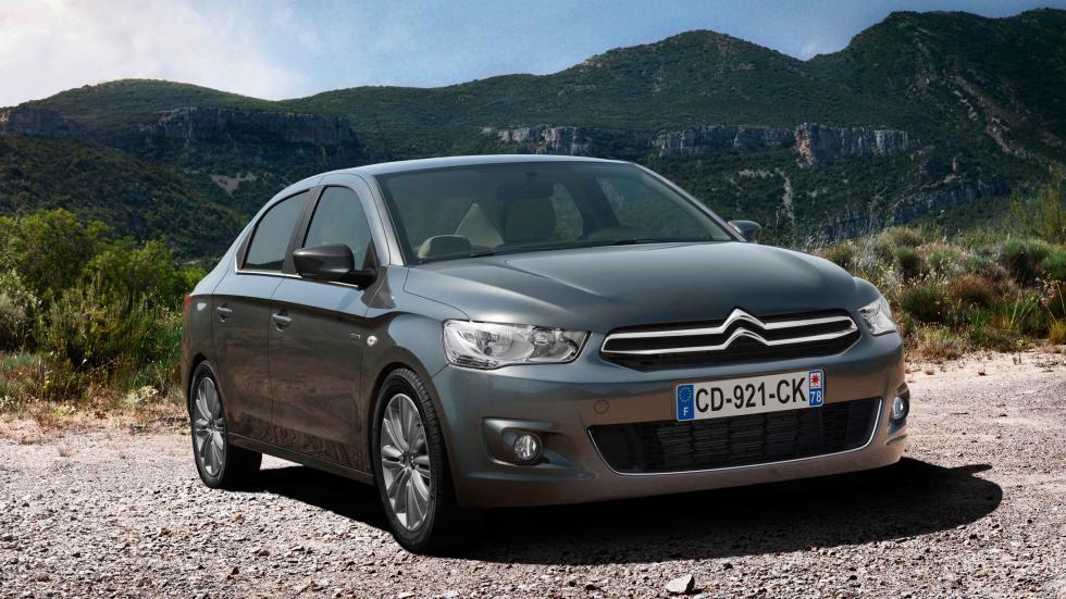 Citroën C-Elysée frontal