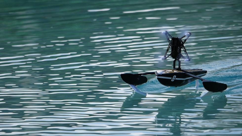 Parrot Hydrofoil: el New Z navegando