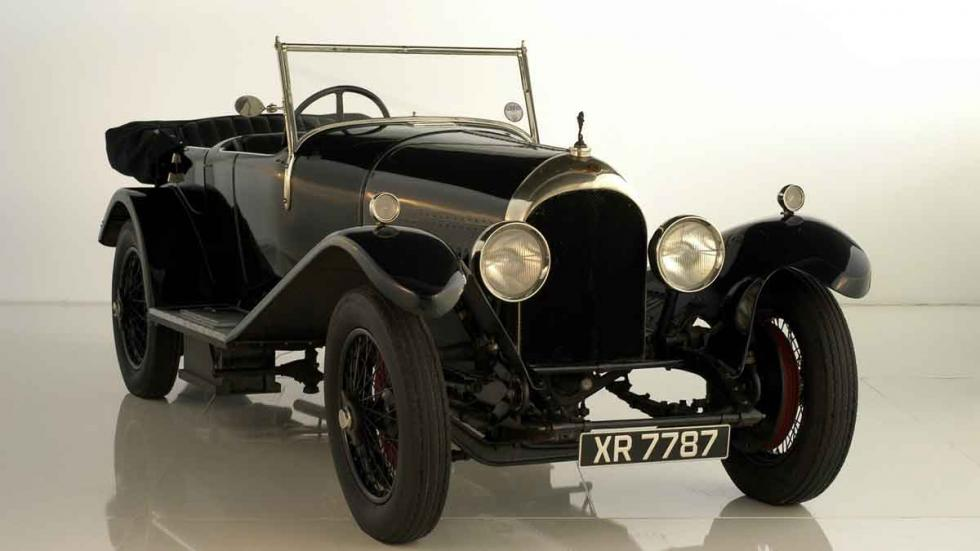 Un Bentley de 3 litros que se exhibe en el 'Autostadt', en Wolfsburgo.