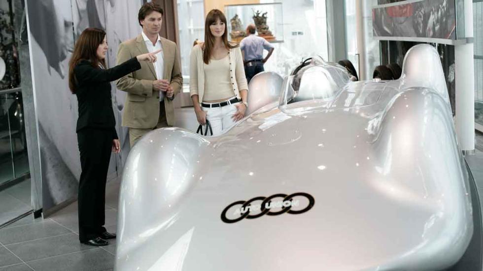 Uno de los vehículos que se exponen en el Audi Forum de Ingolstadt.