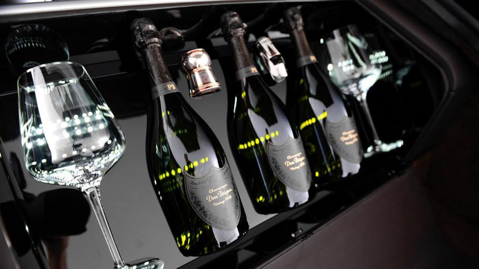 Copas de cristal Aston Martin Rapide S