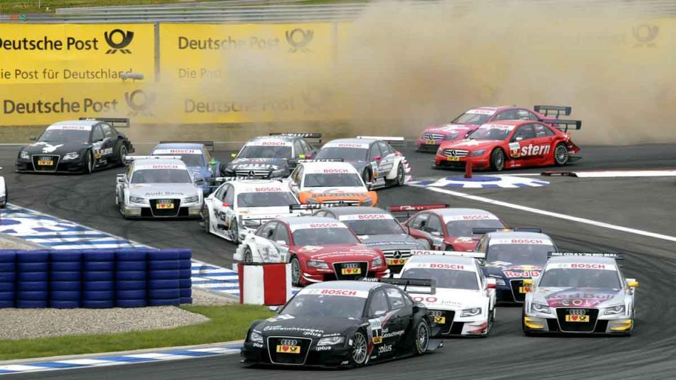 El DTM, en el Hockenheimring.