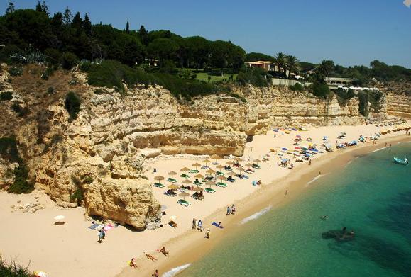 Playa de Cova Redonda, Lagos (Algarve)