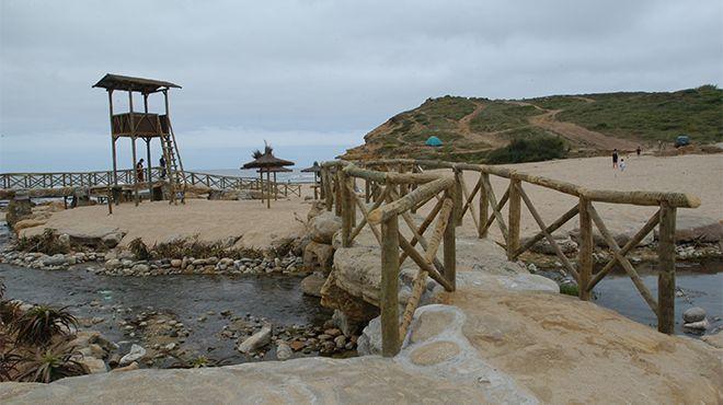 Las playas de Ribeira de Ilhas, en Ericeira