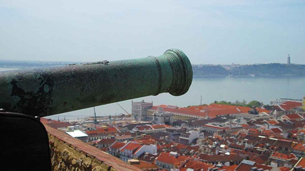 Vistas desde el Castillo de San Jorge (Foto: Morgaine).