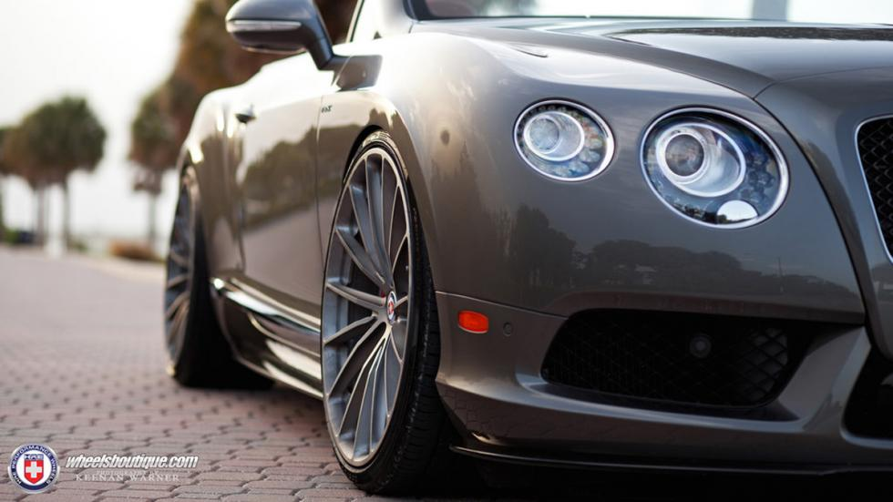 Bentley Continental GTC V8 HRE frontal