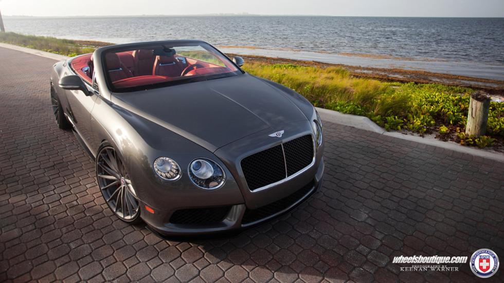 Bentley Continental GTC V8 HRE cenital