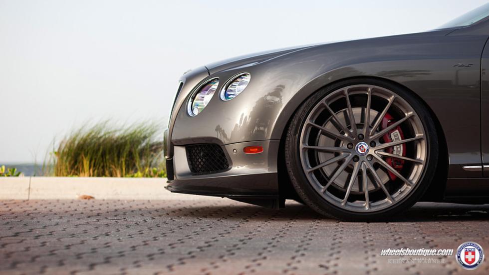Bentley Continental GTC V8 HRE llantas