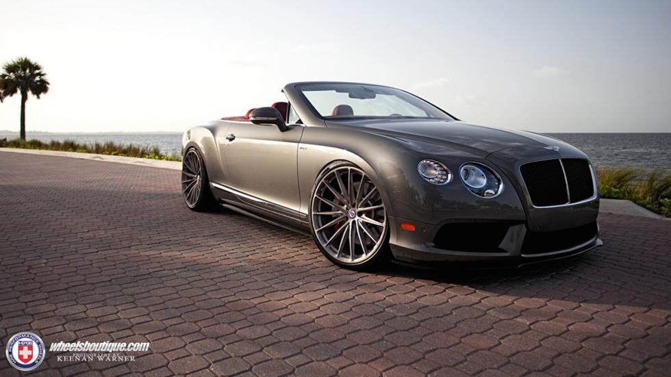 Bentley Continental GTC V8 HRE