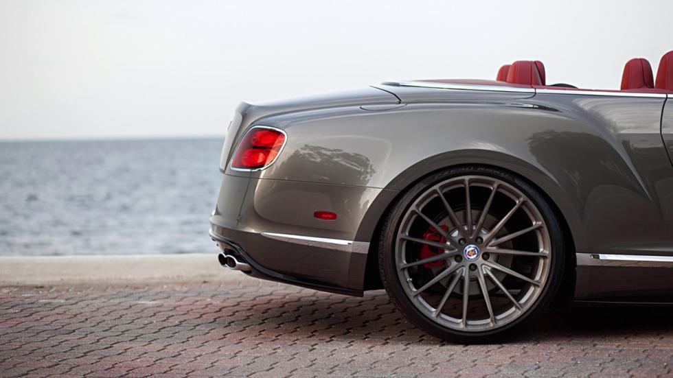 Bentley Continental GTC V8 HRE llanta trasera