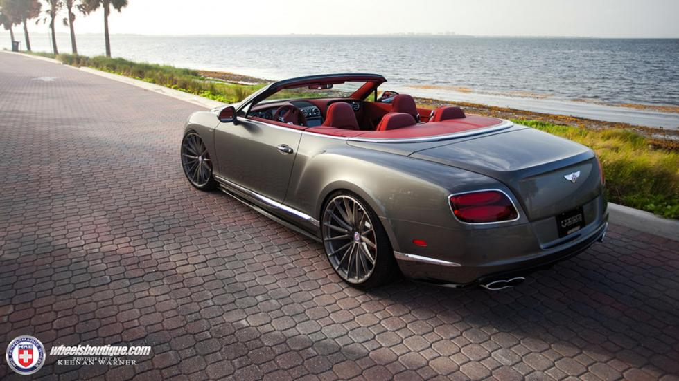 Bentley Continental GTC V8 HRE trasera