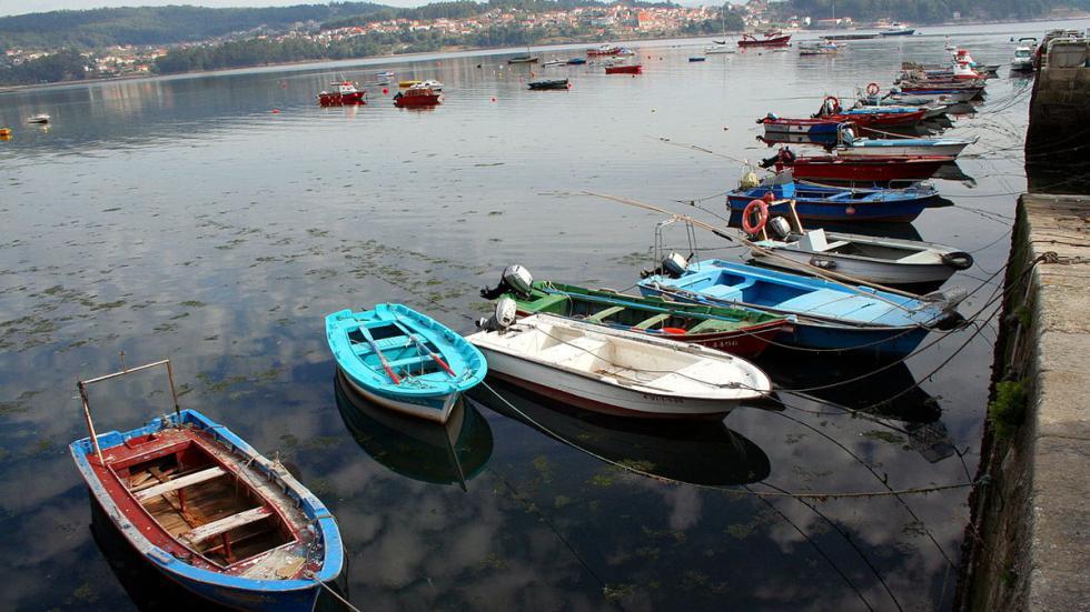 Peirao, el Puerto de Combarro (Pontevedra).