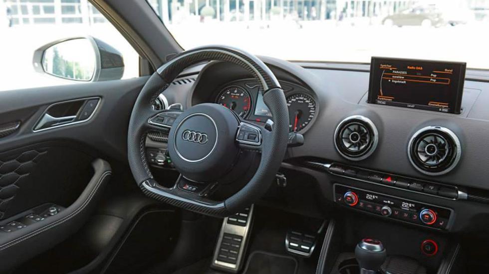 Audi RS 3 único  interior