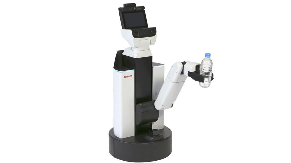 Diseño de Human Support Robot de Toyota