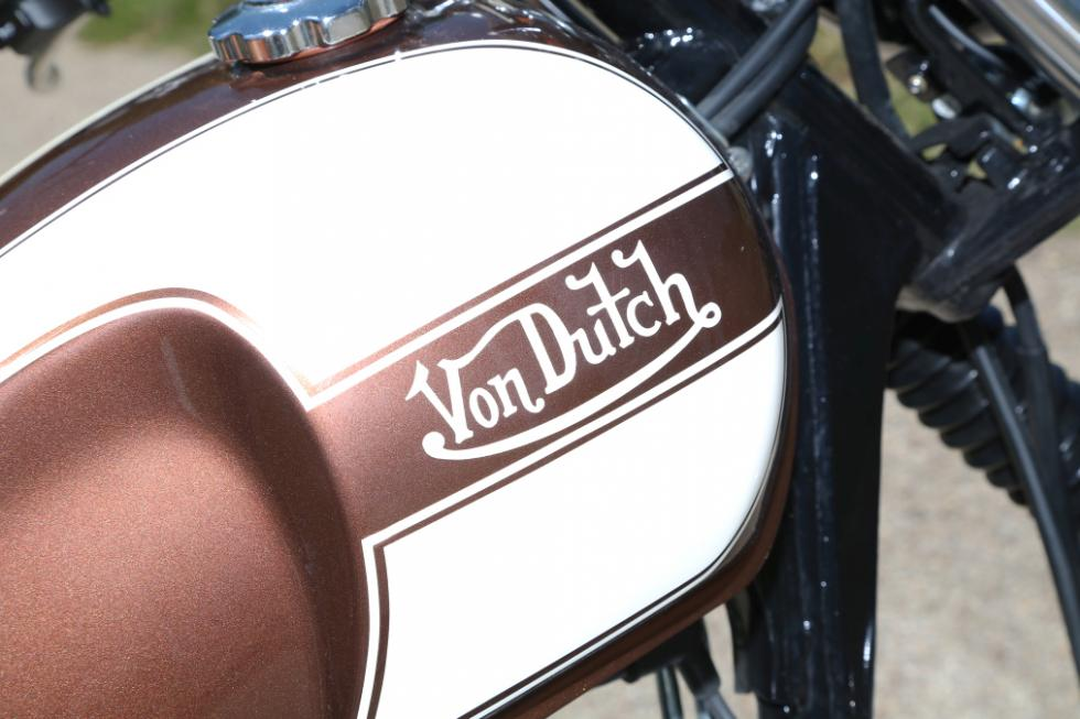 Mash Von Dutch 600 decoración serie limitada