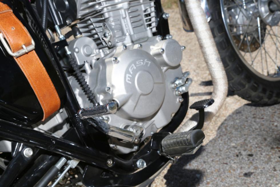 Mash Von Dutch 600 motor