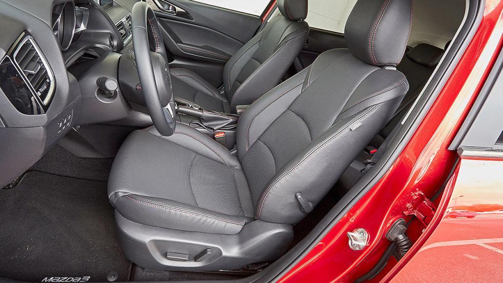 Mazda3 asientos