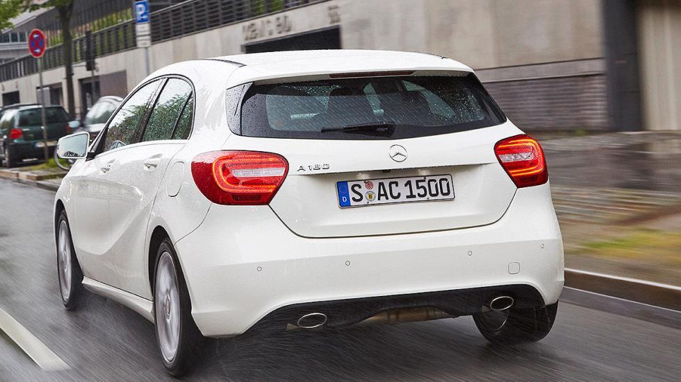 Mercedes Clase A interior zaga