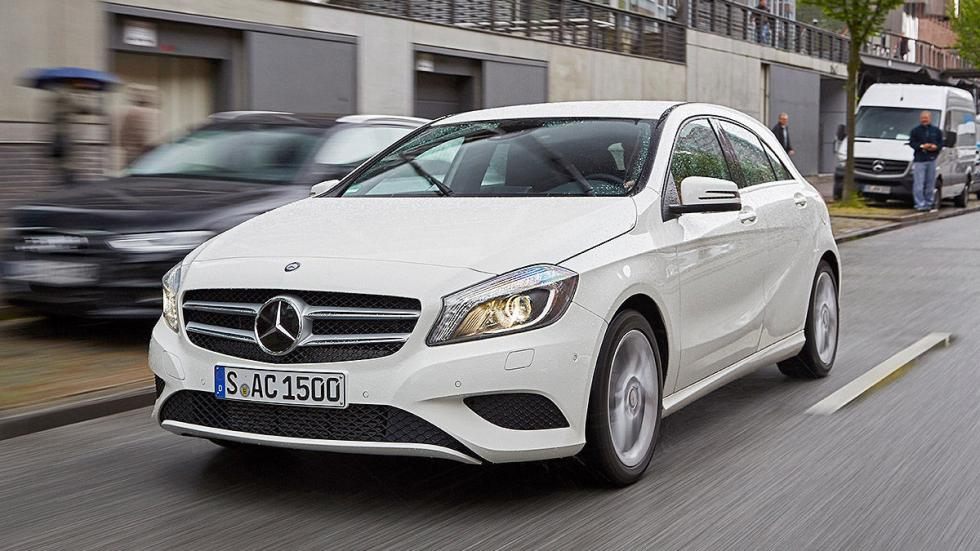 Mercedes Clase A interior morro