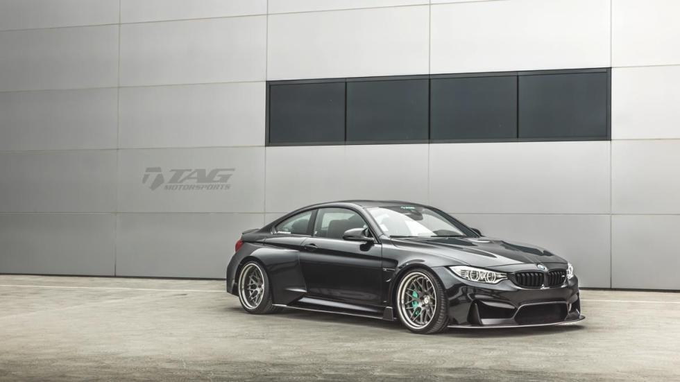 El BMW M4 de TAG