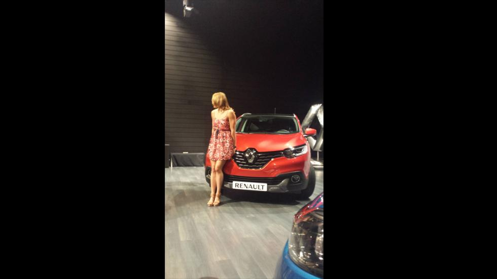Mireia Belmonte Renault Kadjar rojo