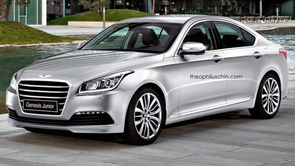 Hyundai Genesis junior frontal