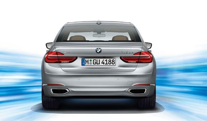 BMW Serie 7 enchufable trasera