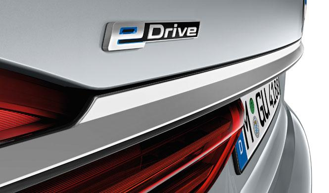 BMW Serie 7 enchufable detalle